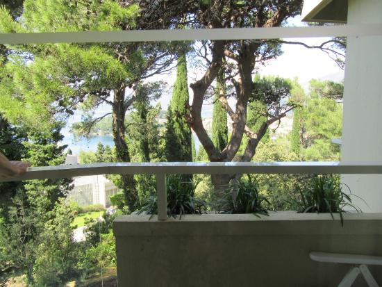 Hotel Croatia Cavtat: View from room 961