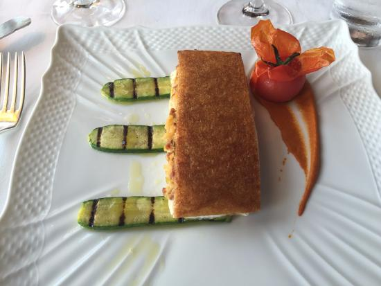 The River Cafe: A fish dish