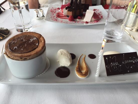 The River Cafe: Chocolate Souffle