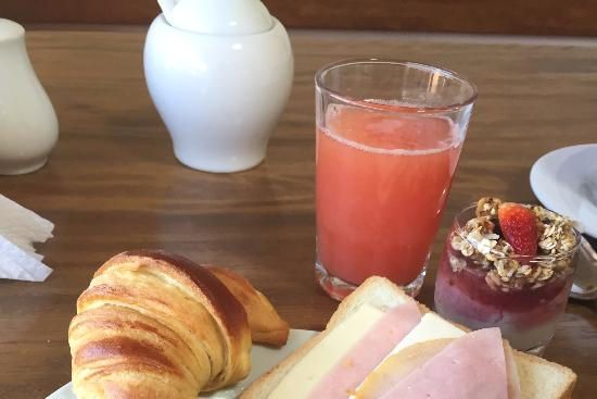 La Morada: Breakfast