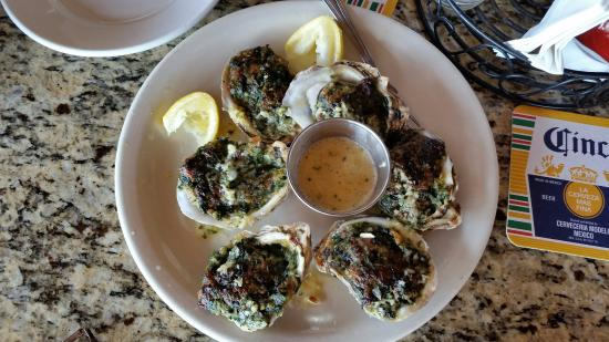 Hudson, Floryda: Oysters Rockefeller