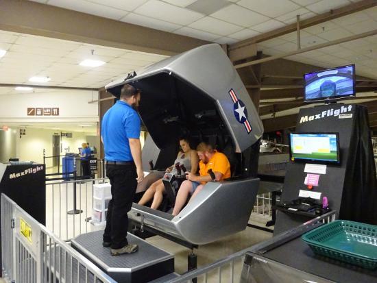space shuttle simulator ride - photo #10