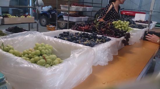 Caversham, Austrália: Assorted Grapes
