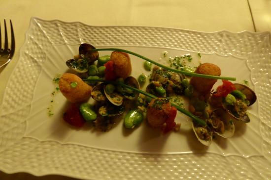 Pergo, Ιταλία: Seafood Edamame.