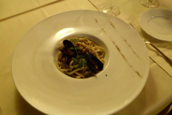 Pergo, Ιταλία: Seafood Pici.
