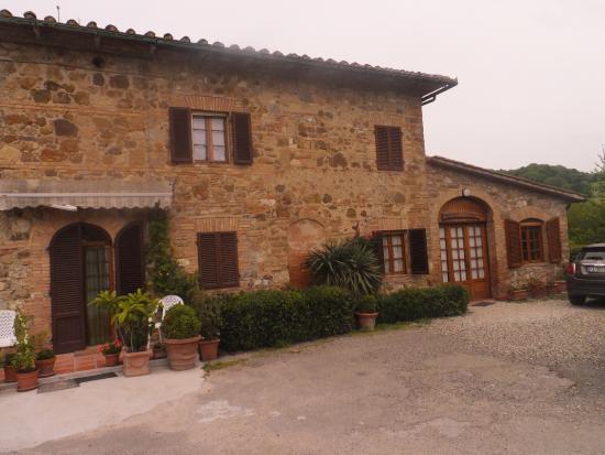 Radicondoli, Italie : Trattoria da Bernardino (Loc. La Fornace)