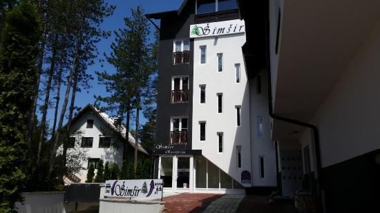 Vila Simsir : Main entrance