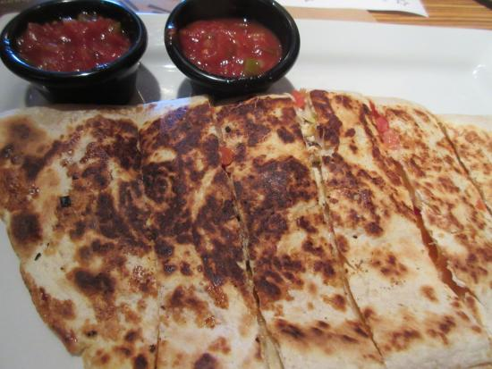 M.T. Bellies: Chicken Quesadillas (hold the sour cream please) :)