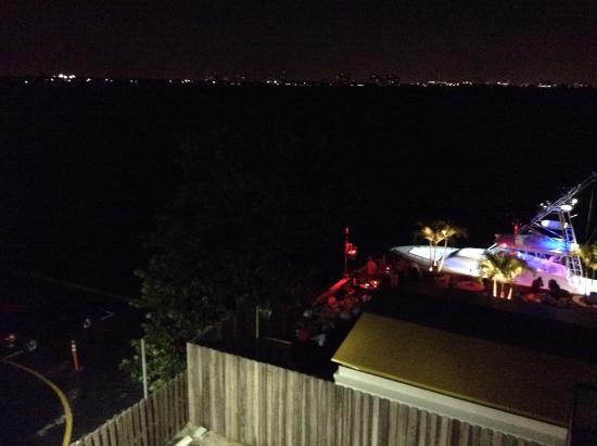 North Bay Village, Floryda: Vida del lounge bar en la noche