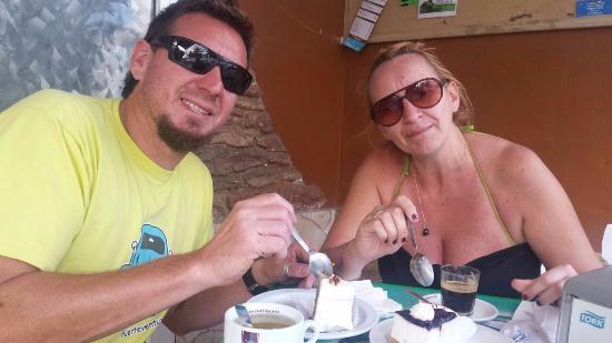 Villaverde, España: fue un momento magico que comparti con mi hermano ..donde se sumo el olor del cafe y ls exquisit