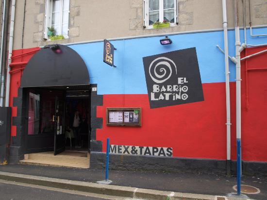 Restaurante El Barrio Latino: barrio latino aux couleurs du printemps
