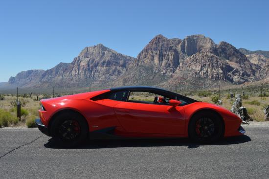 Lamborghini Huracan In Red Rock Canyon Picture Of Royalty Exotic