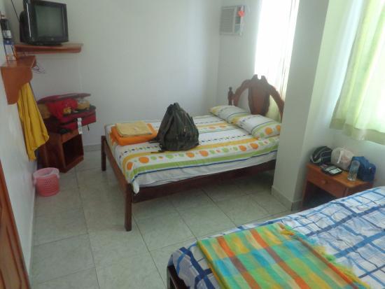 Meu quarto de solteiro no Hotel España. Nada mal!