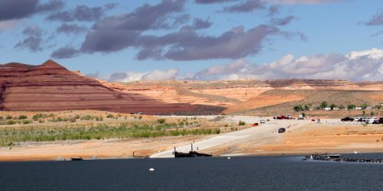 Bullfrog Utah ferry ramp