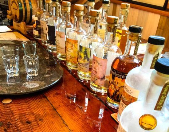 Suki & DeLuco Distillery Tour