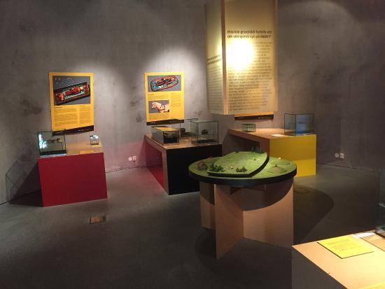 Midgard Historical Centre: Ett av utstillingsrommene