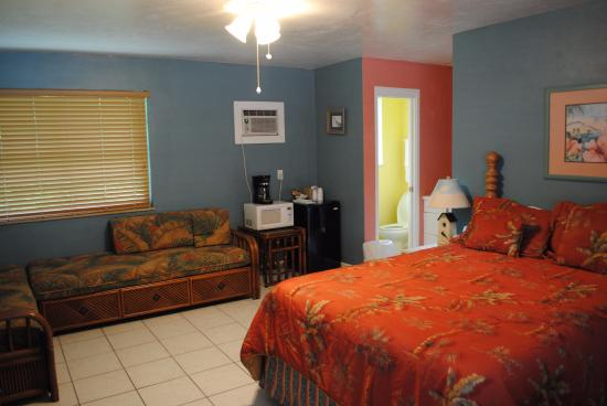 Jensen Beach, Floryda: Hotel rooms are big and comfortable.