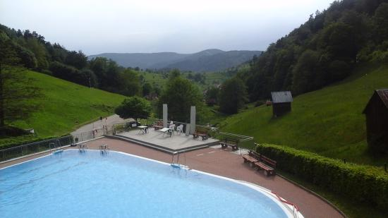 Gernsbach, Germany: Pool in Reichental