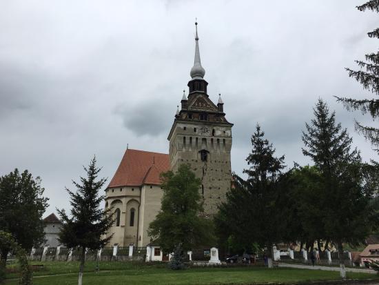 Saschiz, Romania: Крепость в Саскизе