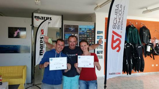 Cruce de Arinaga, สเปน: Formation Open Water Diver SSI