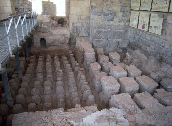 Beit She'an, Israel: part of one of the bathouses