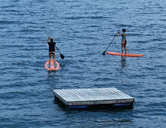Laguna Beach Club Stand Up Paddle Boards Are Included