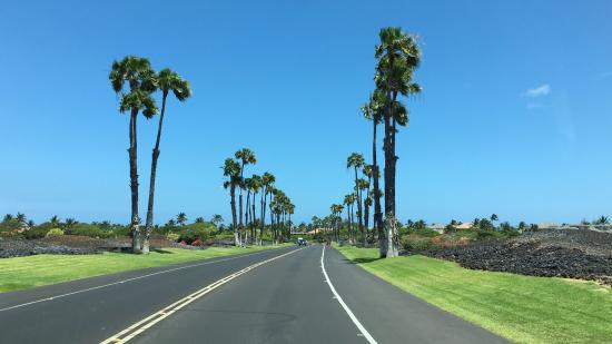 Entrance we took was at the Waikoloa Resort