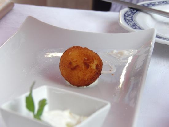 Gran Plaza: Ham croquettes (4 served)