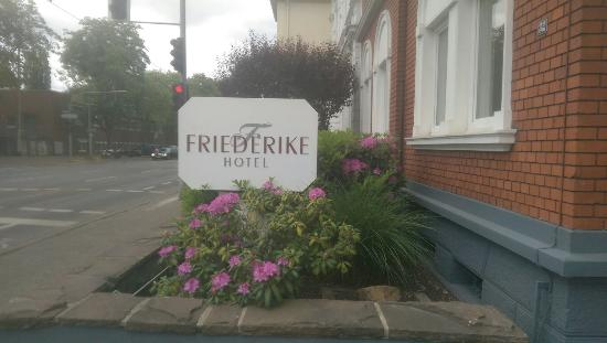 Friederike Hotel: Nice hotel in an old building
