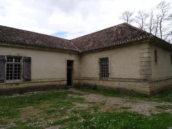 Aquitaine, ฝรั่งเศส: Fort Medoc, ziekenboeg