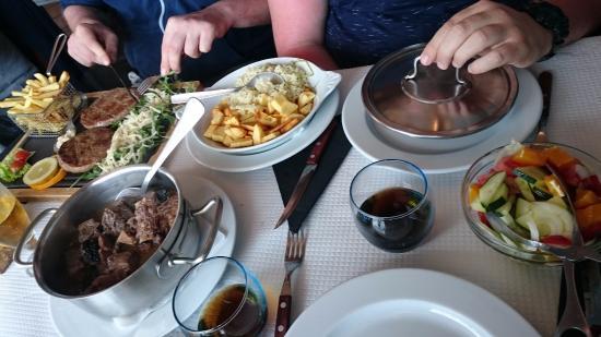 Monchique, البرتغال: Our meals