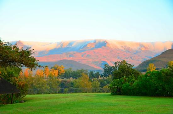 uKhahlamba-Drakensberg Park, Afrika Selatan: Montusi Mountain Lodge