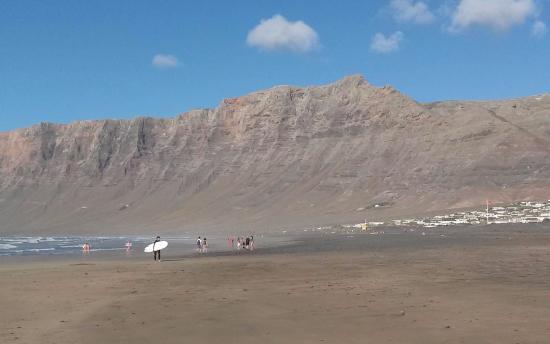 Soo, Spagna: Famara beach