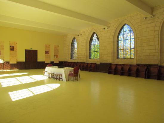 Pontpoint, France: salle capitulaire