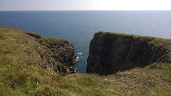 Ardmore, Irlanda: cliff walk