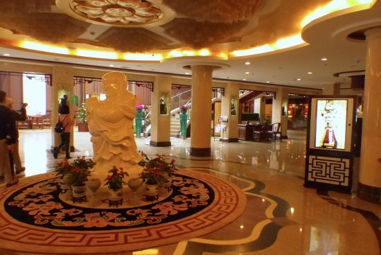 Zhoushan, Kina: Hotel Foyer