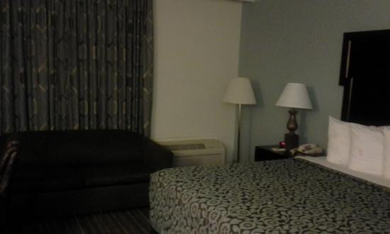 Gastonia, Северная Каролина: sofa/air conditioning-heat