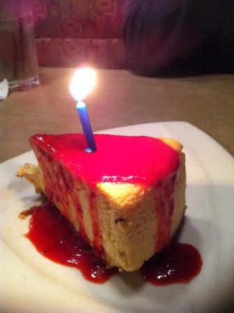 Puleo's Grille: The most petite but yet tasty and heart warming birthday celebration