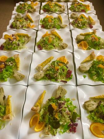 Casalmaggiore, İtalya: antipasto vegetariano