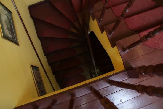 Hotel Pugetow: trappen