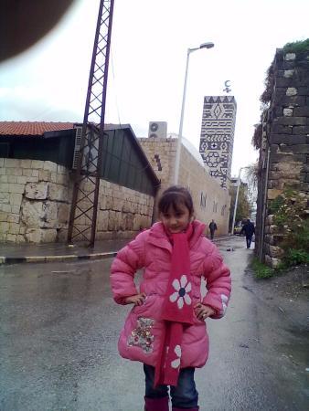 مئذنة الجامع الكبير في حماة من أروع المآذن التاريخية.