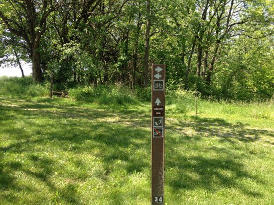 Decatur, IL: Over look trail