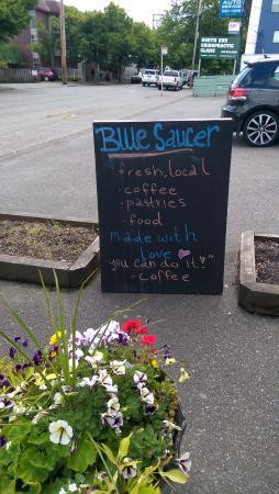 Blue Saucer Cafe' & Coffee House