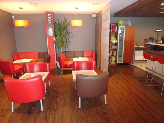 Ibis Kaunas Centre: Здесь проходит завтрак
