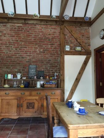 Longhirst, UK: breakfast hall
