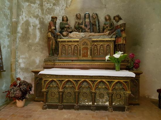 Foix, Francia: In the alcoves around the altar