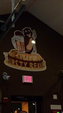 Smithfield, RI: Wall of restaurant