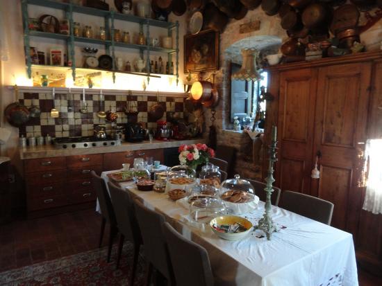 La Rocca dei Trinci: Colazione per due