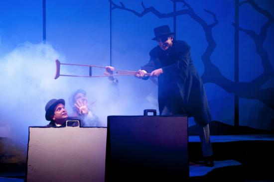 Montpellier, VT: Hound of the Basekervilles (2015) - silly spooky fun. photo Robert Eddy