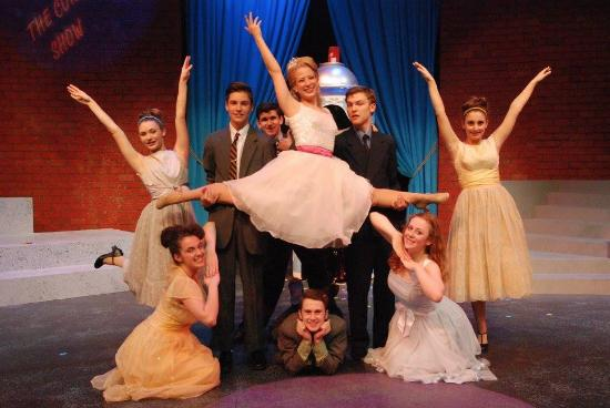Montpelier, VT: The Nicest Kids in Town strut their stuff in Hairspray! April-May 2016 at LNT. photo Jim Lowe